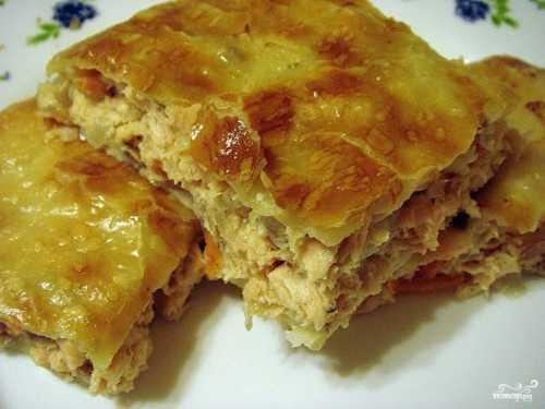 Пирог с курицей