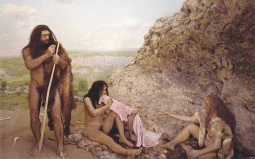 Первобытные женщины были хорошенькими