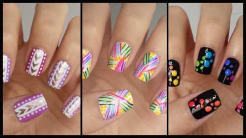 Ногти в домашних условиях
