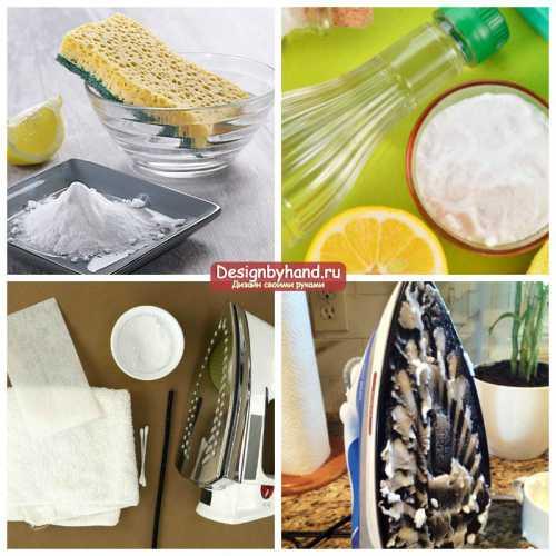 Как очистить утюг от нагара